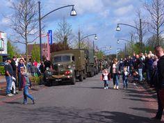 70 jaar bevrijd. in Drachten. Holland