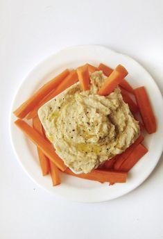 hummus con cebolla caramelizada | receta hummus cebolla caramelizada