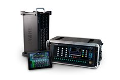 Allen & Heath Qu-Pac with the AB168 audio rack and the Qu-Pad iPad app