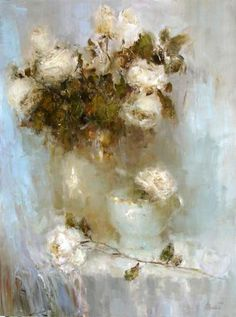 Angelica Privalihin美国画家1 - 守着肉骨头的狗 - 坚守着守望的博客