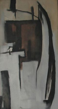 Theodoros Stamos, Divining Rod, 1951 Oil on canvas, 65 1/2 x 35 1/4 inches