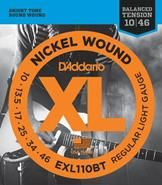 NEW D'Addario XL Balanced Tension Nickel Wound Electric Guitar Strings