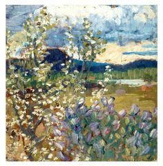 Spring Landscape,Helmer Osslund