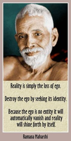 Ego is the veil of ignorance and illusion which is created by Maya, which is God's illusory & delusive power, through which the unreal seems real, and the real seems unreal. Ego doesn't 'automatically' disappear; one has to consciously struggle & work on removing /giving up all attachments and worldly desires, and remove all impurities of the mind, by withdrawing mind & senses from sense pleasures.