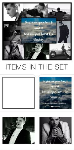"""""""so give me your love, i need it- john newman confirms his brain tumor has returned"""" by heartandsoul ❤ liked on Polyvore featuring art"""
