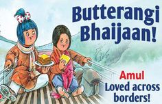 Amul pays tribute to Salman Khan's 'Bajrangi Bhaijaan' Hindi Movie Reviews, New Hindi Movie, Happy 50th Birthday, Photo P, Book Posters, Times Of India, Movie Releases, Photo Story, Film Awards