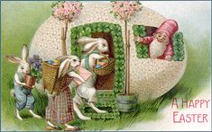 vintage easter cards - Bing Images