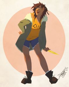 """jillkun: """" I've wanted to try lineless art for a while and I've also wanted to draw Piper! Fun fact: I LOVE PIPER MCLEAN. Percy Jackson Fan Art, Percy Jackson Books, Percy Jackson Fandom, Rick Riordan Series, Rick Riordan Books, I Take A Nap, Greek Mythology Art, Piper Mclean, Trials Of Apollo"""
