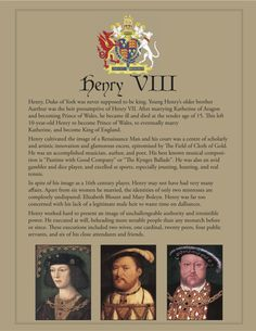 FCBTC / If Henry VIII was handsomest prince in Christendom, it really doesn't say much about the others! Uk History, Tudor History, European History, British History, World History, Ancient History, Family History, Asian History, History Facts