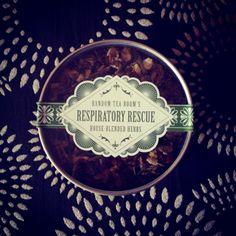 Respiratory Rescue 3oz Tin from The Random Tea Room & Curiosity Shop for $12.00