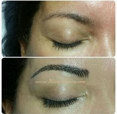 Eyebrow microblading/hairstrokes in New York and Miami