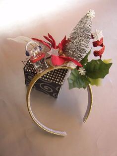 2183fac160e06 Who Ville Holiday Christmas Tiara Headband Hat Grinch That Stole Christmas  Style