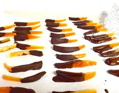 Candied Orange Peels DIY easy and frugal delicious treat.