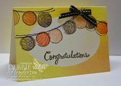 Debbie's Designs: Watercolor Wonder Designer Note Cards Sneak Peek!