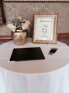 Wedding guestbook www.weddingplannersd.com