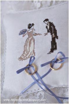 puntocroce e fantasia: evviva gli sposi!!