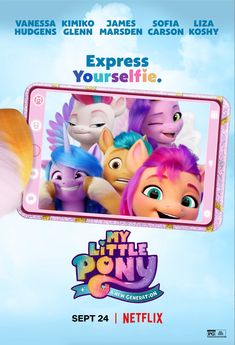 Click to View Extra Large Poster Image for My Little Pony: A New Generation Hd Movies, Movies And Tv Shows, Netflix Trailers, Animated Movie Posters, My Little Pony Wallpaper, Movie Talk, Imagenes My Little Pony, Little My, My Images