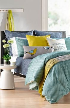 Cassidy Room Nordstrom at Home 'Ellis' & 'Ikat Haze' Bedding Collection  available at #Nordstrom