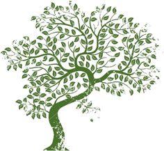 Bent Tree green transparent.png 382×352 pixels