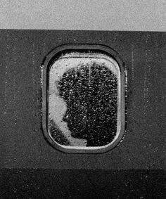 It's Nice That : Strangely haunting portraits of aeroplane passengers by John Schabel