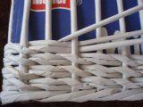 pozor sudý počet -OR! Newspaper Basket, Newspaper Crafts, Diy Paper, Paper Art, Paper Basket Weaving, Flax Weaving, Papercrete, Magazine Crafts, Recycled Art