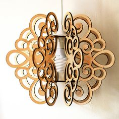 Pendant lamp. Plywood by WanderWoodUa on Etsy http://defdesign.com.ua