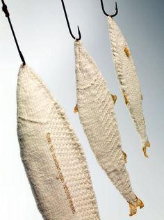 fish from fiber art