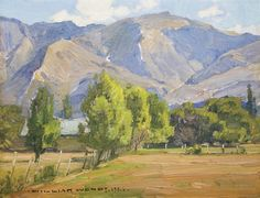 View A California landscape by William Wendt on artnet. Browse upcoming and past auction lots by William Wendt. Landscape Art, Landscape Paintings, Landscape Photography, Mini Paintings, Nature Paintings, American Impressionism, California Art, Beautiful Paintings, Painting Inspiration