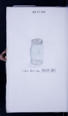 blue ball jar