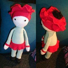 Poppy Paola made by Yvonne / pattern by Zabbez