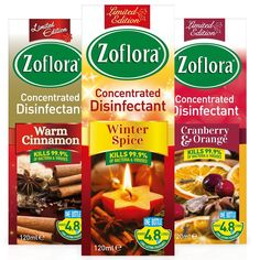 Zoflora Concentrated Disinfectant 120ml Cranberry Orange Cranberry Orange Cranberry Cranberry Cinnamon