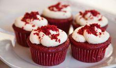 "Skinny Points – Recipes » Skinny Red Velvet ""Cupcakes"""
