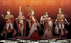 Hetalia chess: the Allies - Art by Nokaku  WAIT IS CHINA QUEEN? NONONONOOONNO IF alfred is king, then eyebrows needs to be queen