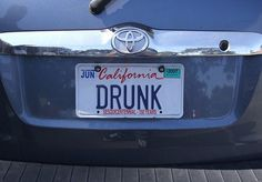 109 best funny license plates bumberstickers images on pinterest