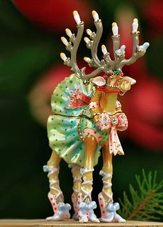 'Dancer'- from Patience Brewster's 'Krinkles'.. would like to collect from this whimsy holiday set!
