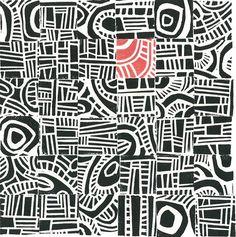 Margaret Rankin - Linocut print