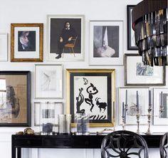 The Copenhagen home of Marianne Brandi and Keld Mikkelsen who head the fashion company Day Birger et Mikkelsen