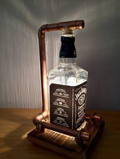 Jack daniels lamp distributeur vintage industriel par MT2Sdesign ...