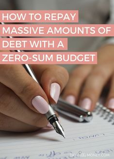 Is budgeting a challenge for you? I crafted a nifty zero-sum budget to finish paying off my student loan debt. Worked like a charm! It's also a great budget to help you save more. Here's how it works!