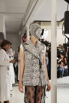 Maison Martin Margiela Haute Couture A/W 2012 photographed by Kasia Bobula