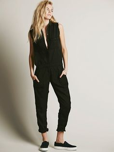 Etienne Marcel Gunner Utility One Piece at Free People Clothing Boutique