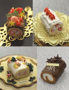 Christmas sweets made by students.