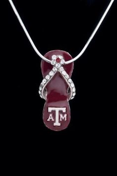 Texas A & M A Aggies Flip-flop Charm Without Pictured Chain (Charm Only) Hail Mary Gifts, http://www.amazon.com/dp/B003Y2UYVG/ref=cm_sw_r_pi_dp_8hyNqb1B2DX5Z