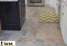 New Post kitchen tile flooring herringbone