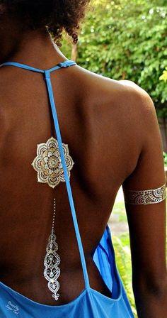 Item dans Top 21 des plus beaux tatouages éphémères de l'été