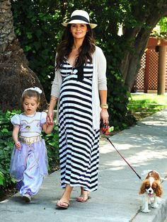 Love a beautiful maternity maxi dress