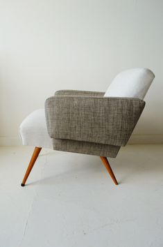 1950s French midcentury armchair
