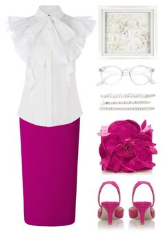 """"""". . ."""" by rasa-j ❤ liked on Polyvore featuring Nancy Gonzalez, Roland Mouret, Cara, Laura Ashley and womensFashion"""