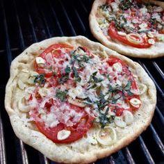Gluten Free Grilled Flatbread Pizza