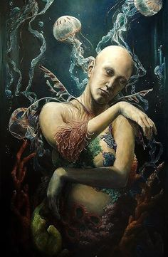 Surrealism and Visionary art: Hannah Faith Yata